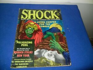 VINTAGE PULP MAGAZINE -SHOCK-1971-SEE PICTURES