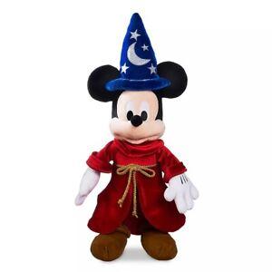 Walt Disney's Fantasia Sorcerer Mickey Mouse Soft Toy Plush Approx 57cm