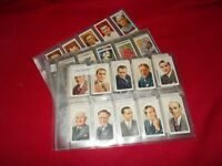 WILLS CIGARETTE CARD COMPLETE FULL SETS  IN PLASTIC SLEEVES - SELECT SET