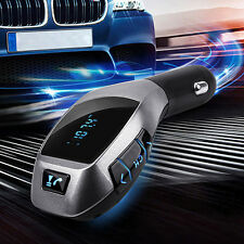 Ep_ Bluetooth Car Kit Mp3 Player Fm Transmitter X5 Usb Tf Charger Wireless Engag