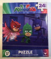 "PJ Masks Puzzle 24 Pieces 9.125x10.375"" 5+ Sealed Box Cardinal"