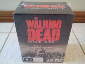 THE WALKING DEAD COMPLETE SEASONS 1-7 BLU RAY COLLECTION BOX SET NEW SEALED