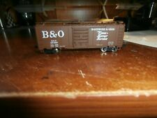 ATLAS N-SCALE  BOXCAR--BALTIMORE  AND OHIO-47087