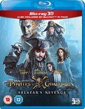 Pirates of the Caribbean Salazars Revenge 3D [Blu-ray] [2017]