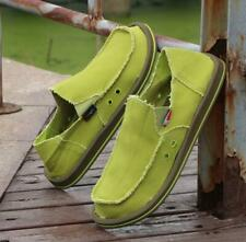 Espadrilles Mens Pumps Canvas Slip On Loafers Casual Sneakers Shoes Colorful