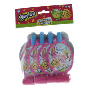 Shopkins 8 Party Blowouts Paper Goods Birthday Supplies