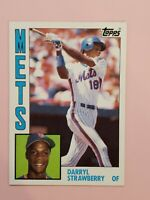 1984 Topps Set Break #182 Darryl Strawberry NM-MT Centered Rookie RC NY METS