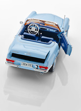 Mercedes Benz 230 SL, Pagoda, W 113, 1963-1967 horizon blue, Norev, 1:18 Boxed