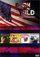 BORN TO BE WILD: THE GOLDEN AGE OF AMERICAN ROCK BBC FOUR MUSIC DOCUMENTARY DVD