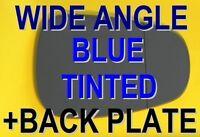 ALFA ROMEO MITO 2008+ WING MIRROR GLASS  BLUE WIDE ANGLE +PLATE RIGHT OR LEFT