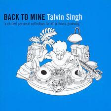 Back to Mine by Talvin Singh (CD, Oct-2001, Dmc Publishing) Free Ship #JD37
