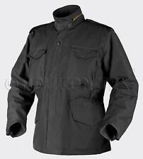 HELIKON TEX US M65 Jacke Army Field Parka Jacket black schwarz mit Futter