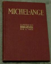 Michel-Ange, Classiques Hachette De L'Art, French, GOOD