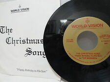 Highly Unusual Dorthy 45 Christmas Song Happy Birthday To His Son Private Xian