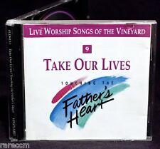 VINEYARD WORSHIP Take Our Lives 1991 CD PRAISE BRYN HAWORTH ANDY PARK