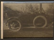 PHOTO AUTOMOBILE ANCIENNE TORPEDO A IDENTIFIER