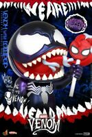 Hot Toys COSBABY COSB827 Lollipop Venom Bubble Head Spider-man Figure Collection