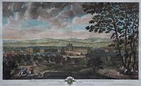 Vue et Perspective du Château de Versailles - Menant / Demortain 1714 - Original