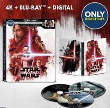 Star Wars VIII the Last Jedi meilleur achat 4k UHD Blu ray 3-disc