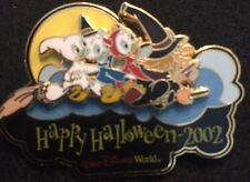 Disney Pin Happy Halloween 2002 Huey Dewey Louie Hazel Slider Limited Edition