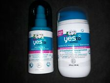 NEW Yes to Cotton Comforting Facial Moisturizer and Anti-Pollution Facial Mask ~