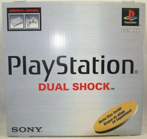 Sony PlayStation PS1 SCPH-7501 Dual Shock Authentic Console BOX ONLY