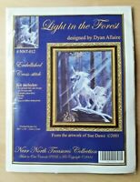 Light in The Forest Embellished Cross Stitch 14 Count Aida (LA35)