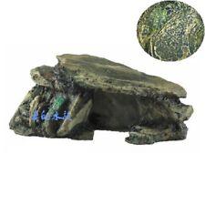 Aquarium Hiding Cave Rock Terrarium Accessories Stones Fish Tank Decoration New