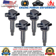 4 Pack High Peformance Ignition Coil for Toyota Corolla Celica Chevy Prizm UF247