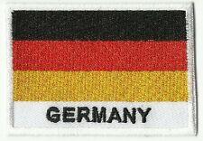 écusson ECUSSON BRODE PATCHE PATCH DRAPEAU ALLEMAGNE DIMENSIONS 7 X 5 CM GERMANY