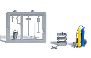 BUSCH 7785 H0, Schweißgerät und Werkzeuge, Bausatz, Neu