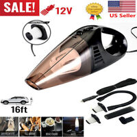 Car Vacuum Cleaner 12V For Auto Mini Hand held Wet Dry Small Portable 12 Volt RF
