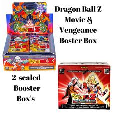 Lot Of 2 Panini Dragon Ball Z Movie Vengeance Booster Box Sealed New TCG Super