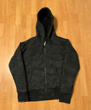 Fox Racing Sasquatch Faux Fur Lined Hoodie Sweatshirt Size Men's Medium