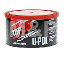 U-pol TOP STOP RED Filler Smooth Finishing Stopper UPOL 750ml