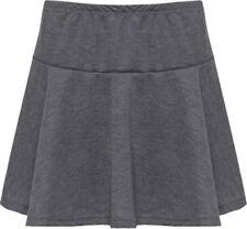 Gonne e minigonne da donna grigi corto, mini taglia 42