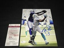 TY HILTON INDIANAPOLIS COLTS SIGNED 8X10 PHOTO JSA WIT COA WP114175 FREE S&H!