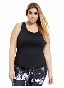 Women's Plus Size On Your Mark Racerback Active Fitness Tank Top, 1X