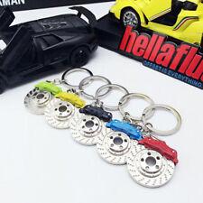 Car Parts Calipers Shape Keyfinder KeyRing Keyfob Disc Brake Keychain