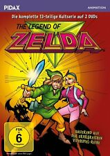 The Legend of Zelda - complete TV series - all 13 Episodes animated DVD Pal
