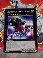 Carte YU GI OH NUMERO 25 : FORCE FOCUS STARFOIL SP14-FR026