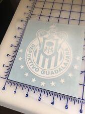 """Chivas De Guadalajara Blanco 12 Estrellas Cut Decal Sticker 5.5""""X 6"""" Calca"""