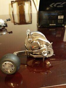 Daiwa Saltiga 15h Star Drag Saltwater Conventional Fishing Reel W/ Reel Lock!