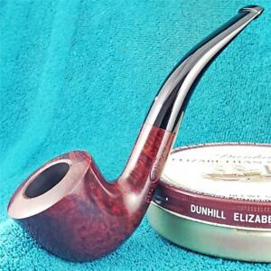 EXCELLENT 2012 DUNHILL BRUYERE CLASSIC 3/4 BENT English Estate Pipe BOX & SLEEVE