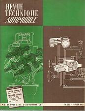 REVUE TECHNIQUE AUTOMOBILE 202 RTA 1963 TRIUMPH HERALD EVO SIMCA ARIANE 58 63