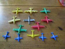 SET OF 13 VINTAGE PLASTIC USAF PLANE TOYS 1950s ?