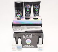 Harmony Gelish NEW POLYGEL FRENCH Kit Nail Enhancement System