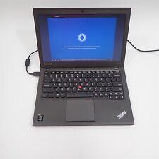 """Lenovo ThinkPad X240 Laptop i5-4300U 1.9Ghz 500Gb Hdd 8Gb 12.5"""" Windows 10 *"""