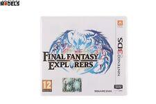FINAL FANTASY EXPLORERS GDR RPG Gioco di Ruolo Nintendo 3DS Pal ITALIANO Nuovo
