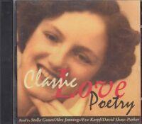 Classic Love Poetry CD Audio Burns Swift Donne Shakespeare Byron Owen Betjeman